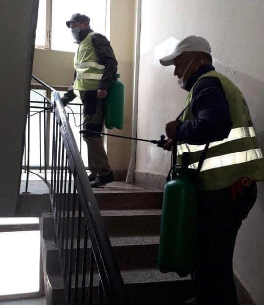 Gostivar, vazhdon dezinfektimi i ndërtesave kolektive