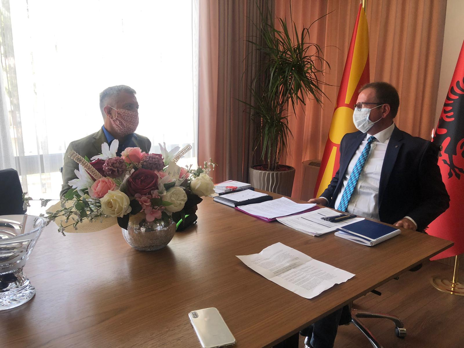 Takim Taravari – Bertolini, u shqyrtuan mundësitë për përfitim nga fondet europjane për zhvillim