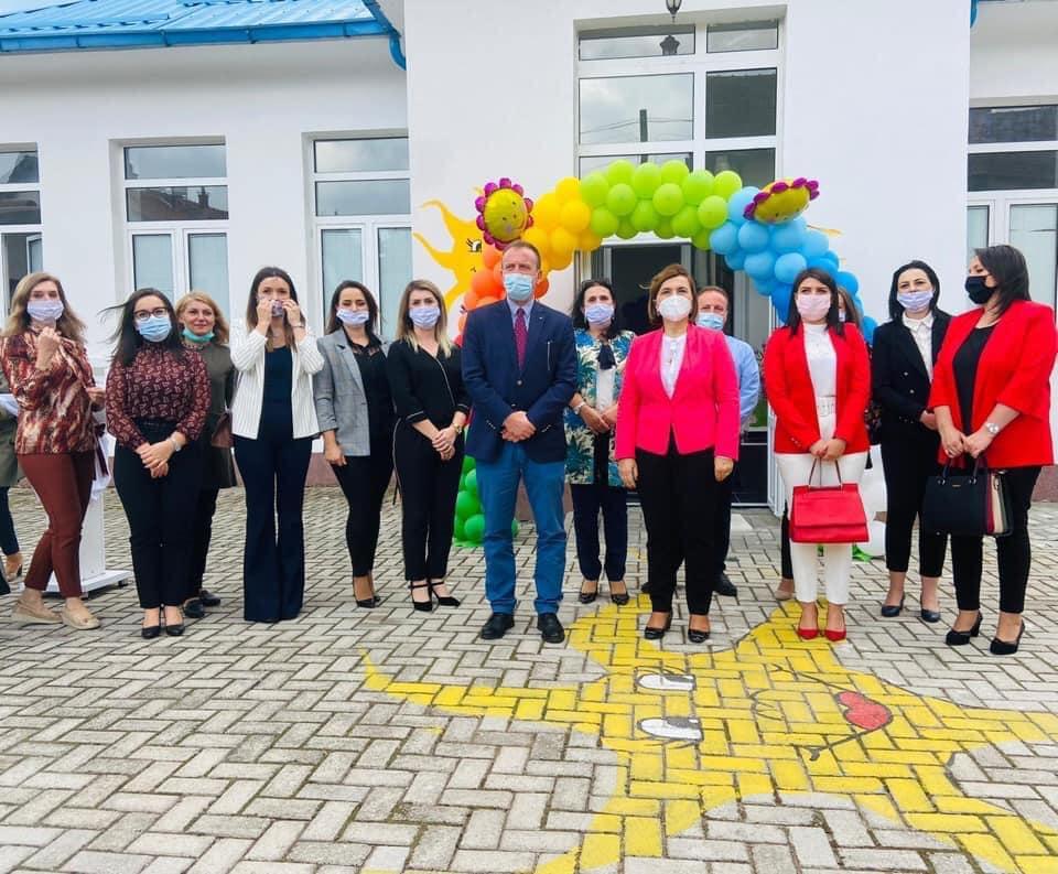 """Новата градинка """"Сонце """" е инаугурирана во селото Бањица е Пошмат"""