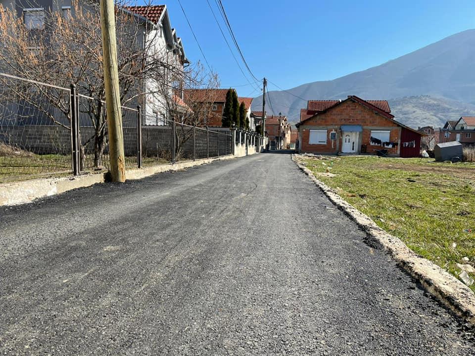 Pas instalimeve nëntokësore të kanalizimeve dhe ndriçimit publik, përfunduam edhe me asfaltimin e 254 metrave