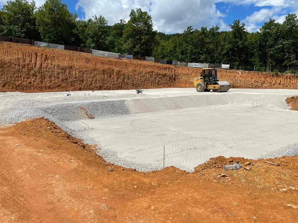 Vijojnë punimet për ndertimin e rezervuarit me te madh të ujit në kuadër te projektit SECO