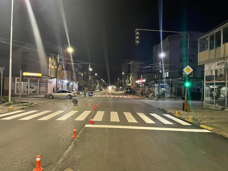 Vijojmë me shenjëzimin horizontal të rrugëve.
